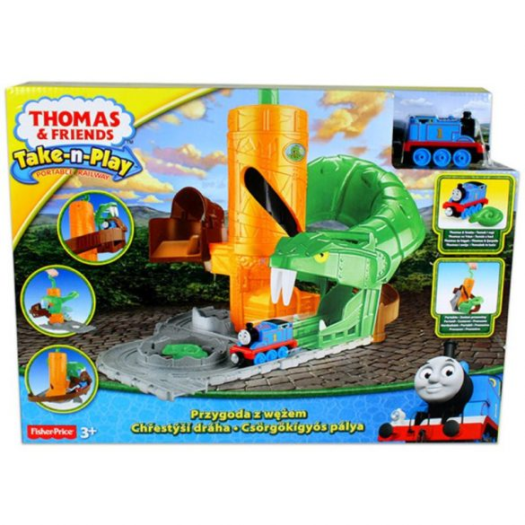 Thomas és barátai TrackMaster Csörgőkígyó pálya