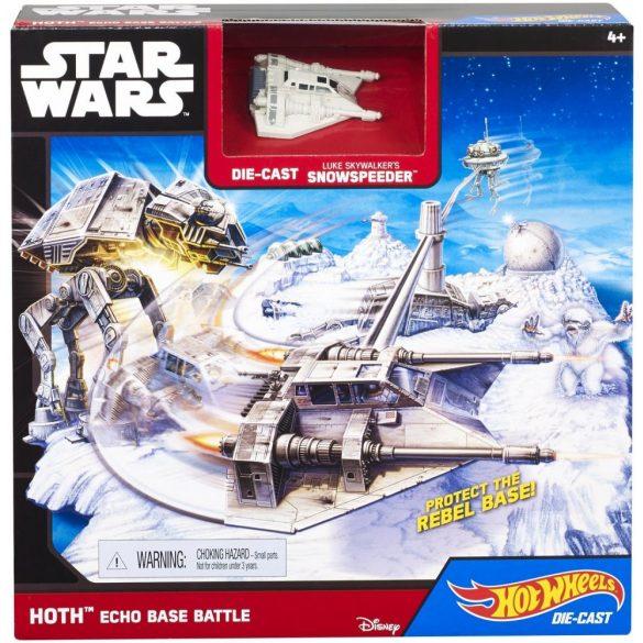 Hot Wheels Star Wars Csillaghajó - HOTH ECHO BASE BATTLE