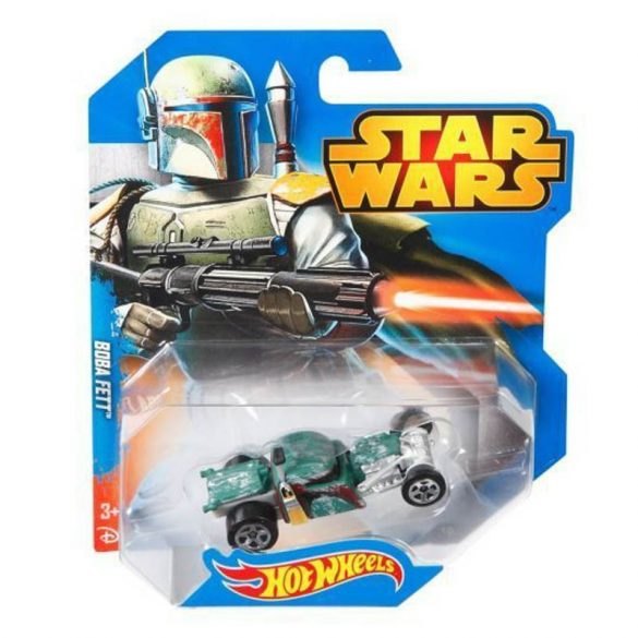 Hot Wheels Star Wars karakter kisautók BOBA FETT