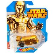 Hot Wheels Star Wars karakter kisautók C-3PO