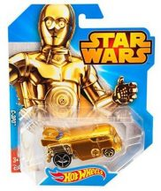 Hot Wheels Star Wars karakter kisautók C-3PO