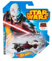 Hot Wheels Star Wars karakter kisautók THE INQUISITOR