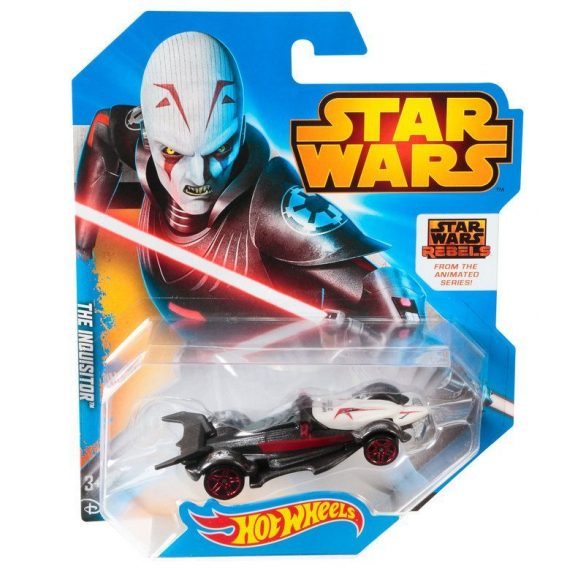Hot Wheels Star Wars karakter kisautók THE INQUISITOR