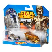 Hot Wheels Star Wars karakter kisautók - R2-D2 és C-3PO