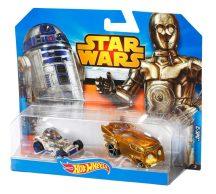 Hot Wheels Star Wars karakter kisautók - R2-D2 és C-3PO