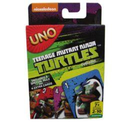 Tini nindzsa teknőcök UNO kártya
