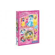 Clementoni 07133 Disney puzzle - Disney hercegnők (2x60 db-os)