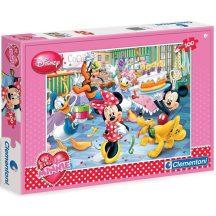 Clementoni 07210 Disney puzzle - Minnie születésnapja (100 db-os)