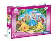Clementoni 07222 Disney puzzle - Disney hercegnők (100 db-os)