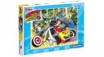 Clementoni puzzle - Mickey és a versenyzők (100 db-os) 07258