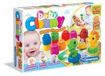 Clemmy Baby Mókás dínók készlet