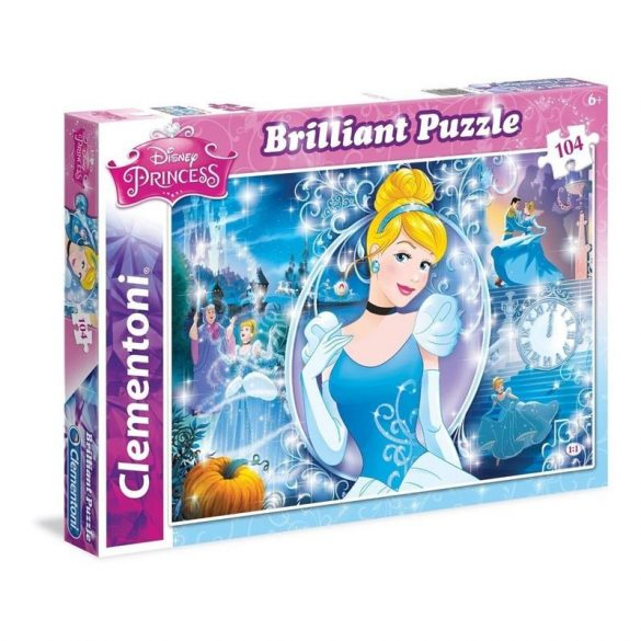 Clementoni 20132 Brilliant puzzle - Csipkerózsika (104 db-os)
