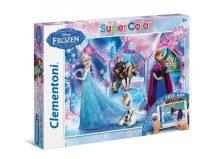 Clementoni Super Color puzzle - Jégvarázs (104 db-os) 20703