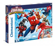 Clementoni 20704 Super Color puzzle - MARVEL Ultimate Pókember (104 db-os)