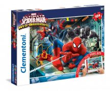 Clementoni Super Color puzzle - MARVEL Ultimate Pókember (104 db-os) 20705