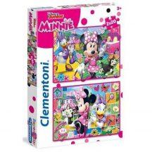 Clementoni 24750 Disney Super Color puzzle - Minnie és Daisy (2x20 db-os)