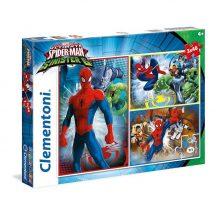 Clementoni Super Color puzzle - MARVEL Pókember vs. Sinister 6 (3x48 db-os) 25217