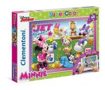 Clementoni Super Color puzzle - Disney Junior Mickey egér: Minnie egér (60 db-os) 26934