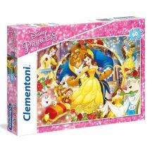 Clementoni Super Color puzzle - Disney Hercegnők (60 db-os) 26966