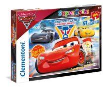 Clementoni 27072 Disney Super Color puzzle - Verdák 3 (104 db-os)