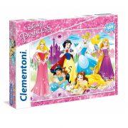 Clementoni 27086 Super Color puzzle - Disney Hercegnők (104 db-os)