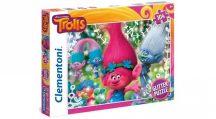 Clementoni 27249 Super Color csillámos puzzle - TROLLOK (104 db-os)