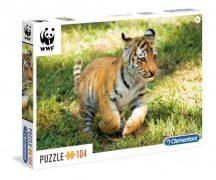 Clementoni 27998 WWF puzzle - Tigris kölyök (104 db-os)