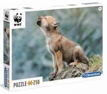 Clementoni 29746 WWF puzzle - Farkaska (250 db-os)