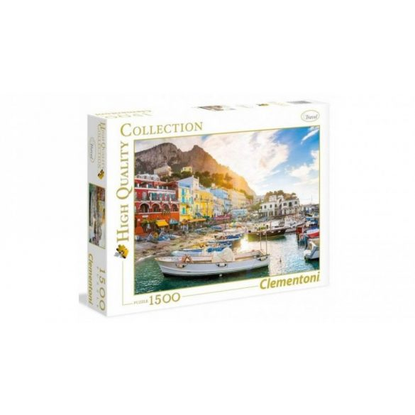 Clementoni 31678 High Quality Collection puzzle - Capri (1500 db-os)