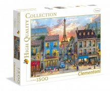 Clementoni High Quality Collection puzzle - Párizsi utca (1500 db-os) 31679