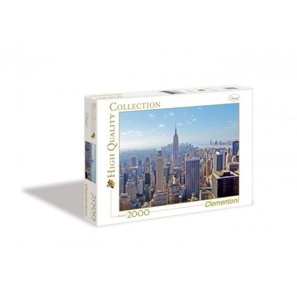 Clementoni 32544 High Quality Collection puzzle - New York (2000 db-os)