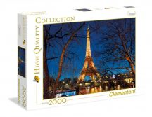 Clementoni High Quality Collection puzzle - Párizs (2000 db-os) 32554