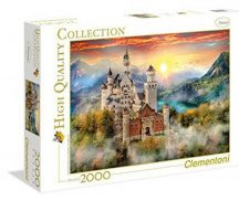 Clementoni High Quality Collection puzzle - Neuschwanstein (2000 db-os) 32559