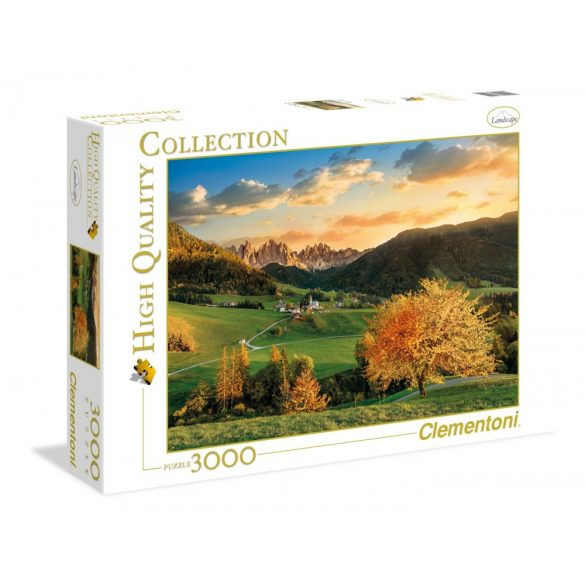 Clementoni 33545 High Quality Collection puzzle - Dolomitok (3000 db-os)