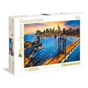 Clementoni 33546 High Quality Collection puzzle - New York (3000 db-os)