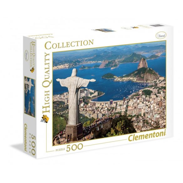 Clementoni 35032 High Quality Collection puzzle - Rio De Janeiro (500 db-os)