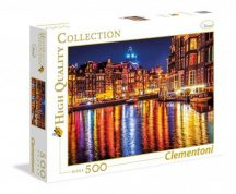 Clementoni 35037 High Quality Collection puzzle - Amszterdam (500 db-os)