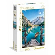 Clementoni 35039 High Quality Collection puzzle - Braies-tó (500 db-os)
