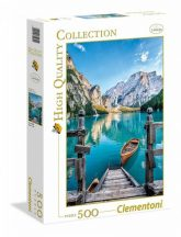Clementoni High Quality Collection puzzle - Braies-tó (500 db-os) 35039