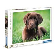 Clementoni 35072 High Quality Collection Puzzle - Csoki kutyus (500db)