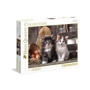 Clementoni 39340 High Quality Collection puzzle - Édes kiscicák (1000 db-os)