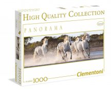 Clementoni High Quality Collection puzzle - Vágtázó lovak panoráma (1000 db-os) 39371