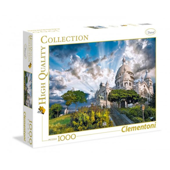 Clementoni 39383 High Quality Collection puzzle - Montmartre (1000 db-os)