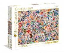 Clementoni 39387 High Quality Collection puzzle - Bélyegek (1000 db-os)