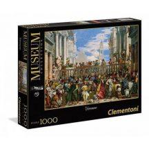 Clementoni 39391 Museum Collection puzzle - Veronese: A kánai mennyegző (1000 db-os)