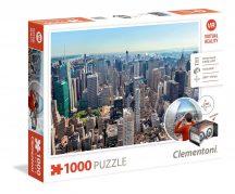 Clementoni 39401 Virtual Reality puzzle szemüveggel - New York (1000 db-os)