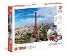 Clementoni 39402 Virtual Reality puzzle szemüveggel - Párizs (1000 db-os)