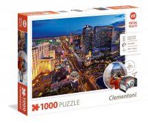 Clementoni 39404 Virtual Reality puzzle szemüveggel - Las Vegas (1000 db-os)