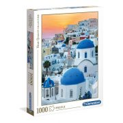Clementoni 39480 High Quality Collection puzzle - Santorini (1000 db-os)