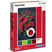 Clementoni 39494 Pantone puzzle - Vörös hibiszkusz (1000 db)